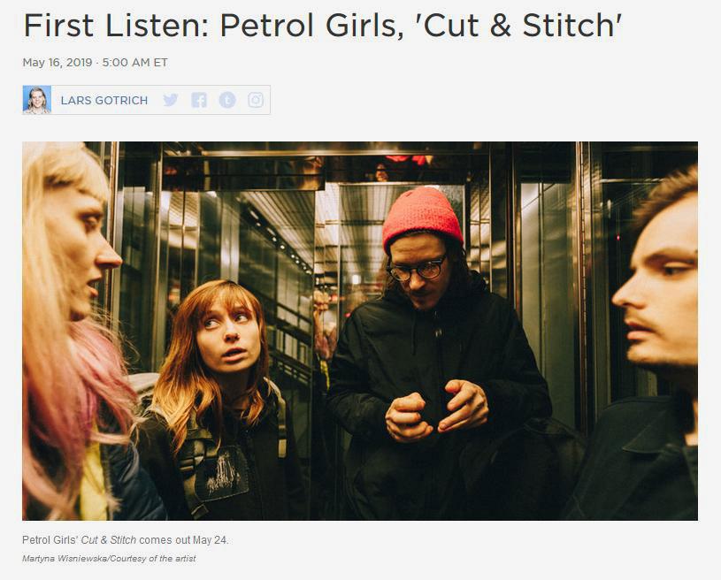 Petrol Girls bei NPR