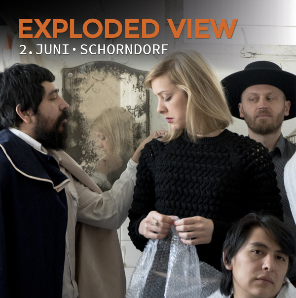 Exploded View, 2.6.2018, Schorndorf, Manufaktur