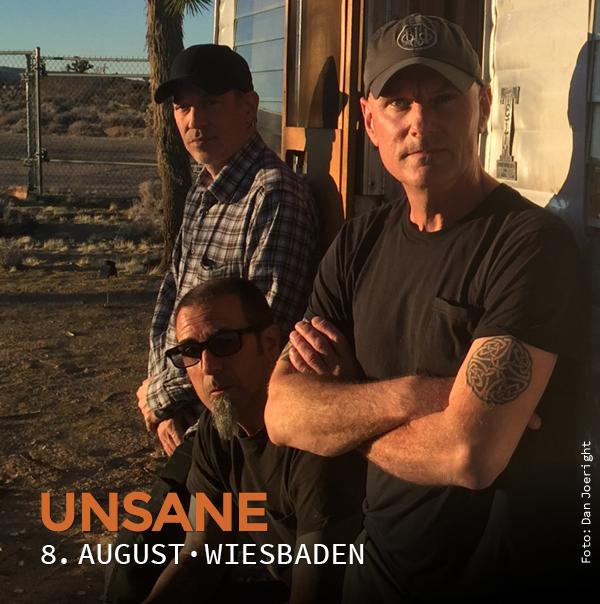 Unsane, 8. August, Wiesbaden, Schlachthof