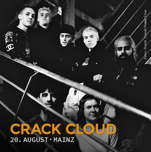 Crack Cloud, 20. August, Mainz, Schon schön